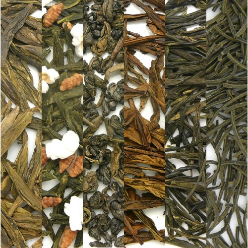 Green Tea Sampler Image